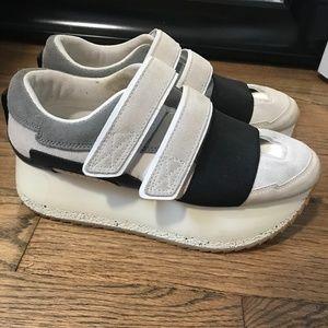 Zara Platform Sneakers Size 8
